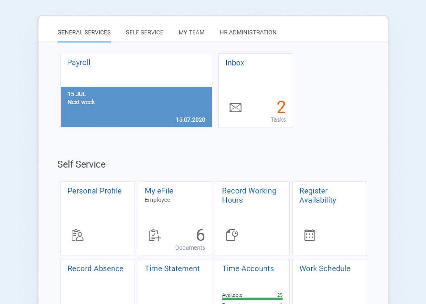 Payroll-screen